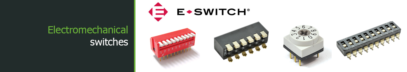 E-Switch DIP switch types